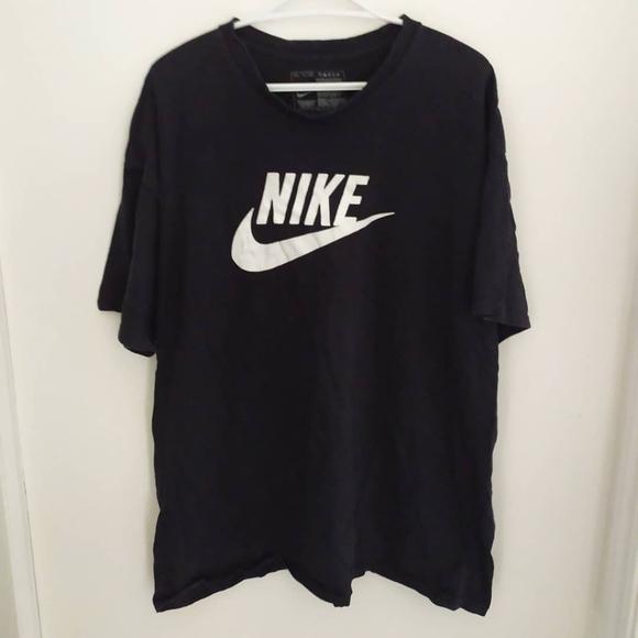 vintage black Nike tee - mens XXL